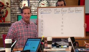 GMFB's first round mock draft with Adam Rank
