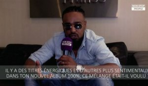 "Alonzo se confie sur l'écriture de son album ""100%"" (EXCLU VIDEO)"