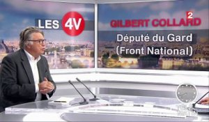 "4 Vérités : ""L'alternative à Marine Le Pen, c'est Marine Le Pen"", assure Gilbert Collard"