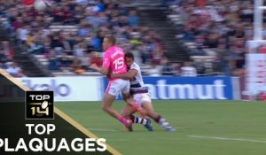 TOP Plaquages de la J3 – TOP 14 – Saison 2017-2018