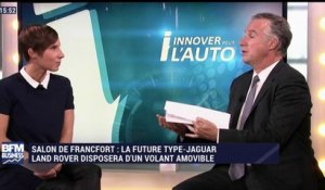 L'auto du futur: la Future-Type de Jaguar Land Rover disposera d'un volant amovible - 23/09