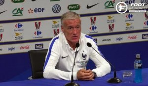 Deschamps encense le soldat Sissoko
