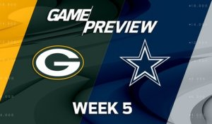 Packers vs. Cowboys Week 5 game preview