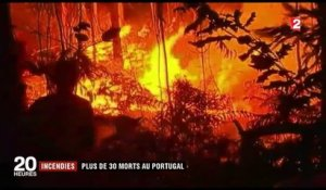 Incendies : plus de 30 morts au Portugal