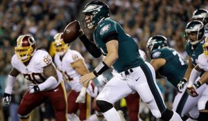 Charley Casserly highlights three areas where Carson Wentz has taken a leap this year