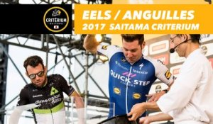 Riders vs. Eels / Coureurs vs. Anguilles - 2017 Tour de France Saitama Critérium