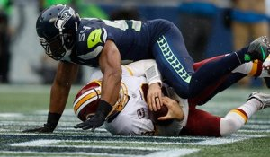 Bobby Wagner sacks Kirk Cousins in end zone to force safety