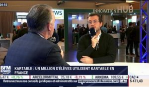 Un million d'élèves utilisent Kartable en France - 08/11