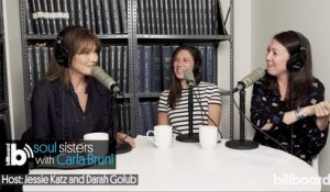 Carla Bruni Talks New Album & Trump Dating Rumors on Soul Sisters Podcast