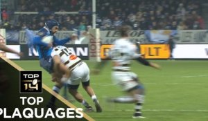 TOP Plaquages de la J10 – TOP 14 – Saison 2017-2018
