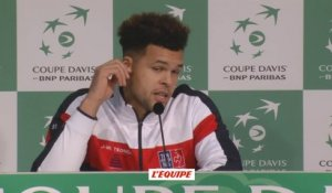 Tennis - Coupe Davis : Tsonga «Beaucoup d'occasions manquées»