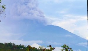 Eruption du Mt. Agung (Bali)