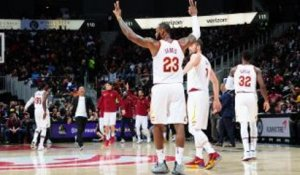 NBA : LeBron James intraitable face aux Hawks