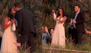Rachel Lindsay and Bryan Abasolo Have Engagement Party