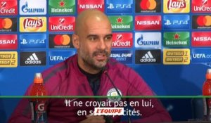 Foot - C1 - Man. City : Guardiola «Bernardo Silva a une qualité incroyable»