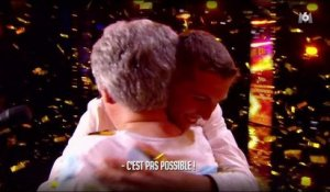 Le golden buzzer de Gilbert Rozon