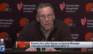 Dorsey: Any personnel guy would be 'excited' for Browns GM job