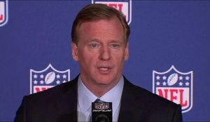 Goodell addresses media at NFL Winter League Meeting