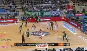 Basket - Euroligue (H) : Le Pana s'accroche
