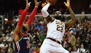 NBA [Focus] LeBron James triple la mise