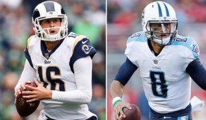 Goff or Mariota: Who do you want at QB in a big game?