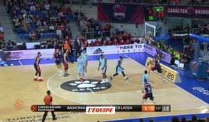 Basket - Euroligue (H) : Vitoria bat Barcelone de justesse