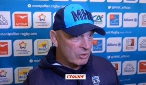 Rugby - Top 14 - Montpellier : Cotter «C'était tendu»