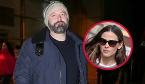 Ben Affleck Spent Christmas with Jennifer Garner