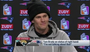 Tom Brady's AFC Championship Game press conference