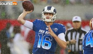 Pro Bowl 'Sound FX': AFC, NFC fight through the pouring rain