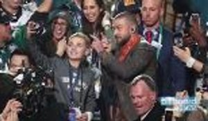 Super Bowl 2018: Justin Timberlake Halftime Selfie Kid Speaks | Billboard News