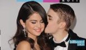 Justin Bieber Attended His Dad's Wedding With Selena Gomez | Billboard News