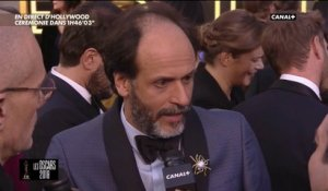 "Luca Guadagnino, réalisateur de ""Call Me By Your Name"", sur le Tapis rouge - Oscars 2018"