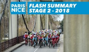 Flash Summary - Stage 2 - Paris-Nice 2018