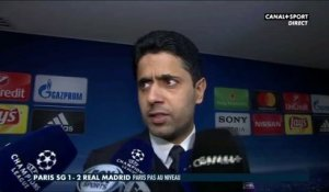 Late Football Club - La réaction de Nasser Al-Khelaïfi après PSG - Real Madrid