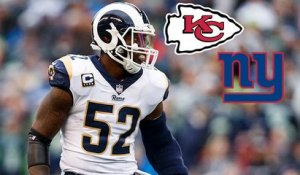 Rapoport: Chiefs declined Rams' trade offers with Ogletree before Giants made deal