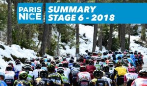 Summary - Stage 6 - Paris-Nice 2018