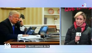 Steve Bannon : l'invité surprise du Front national