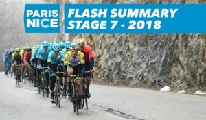 Flash Summary - Stage 7 - Paris-Nice 2018
