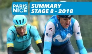 Summary - Stage 8 - Paris-Nice 2018