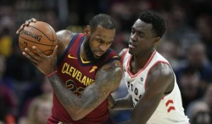 NBA : Un grand LeBron James éteint Toronto !