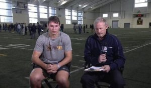Josh Allen aces Mike Mayock's pop quiz after his pro day