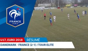 U17, Tour Elite 2018 : Danemark-France (2-1), le résumé I FFF 2018