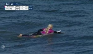 Adrénaline - Surf : Tatiana Weston-Webb with an 8 Wave vs. N.Van Dijk