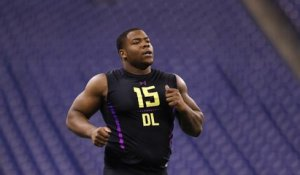 Da'Ron Payne's full 2018 NFL Scouting Combine workout