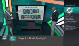 Dolphins' war room: Projecting Miami's first three selections in 2018 NFL Draft