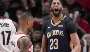 NBA : Anthony Davis survole Portland dans le Top 10