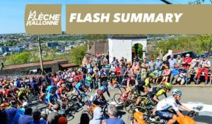 Flash Summary - La Flèche Wallonne 2018