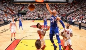 NBA : Simmons, un dunk clutch dans le Top 10