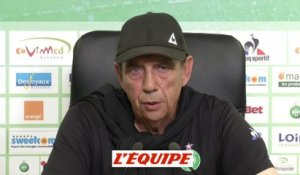 Gasset «On a une équipe joueuse» - Foot - L1 - ASSE